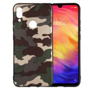 Camouflage Pattern TPU Case for Xiaomi Redmi Note 7S / Note 7 / Note 7 Pro (India) - Green
