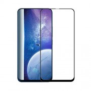 Silk Printing Tempered Glass Full Size Screen Protection Film (Full Glue) for Samsung Galaxy A80 / A90