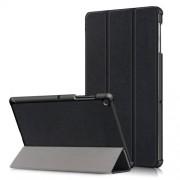 Δερμάτινη Θήκη Βιβλίο Tri-Fold με Βάση Στήριξης για Samsung Galaxy Tab S5e SM-T720 / SM-T725 - Μαύρο