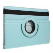 Περιστρεφόμενη Δερμάτινη Θήκη Βιβλίο με Βάση Στήριξης για Samsung Galaxy Tab S5e SM-T720 / SM-T725 - Γαλάζιο