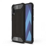 Tough Armor Υβριδική Θήκη Σιλικόνης TPU σε Συνδυαμό με Πλαστικό για Samsung Galaxy A70 - Μαύρο