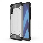 Tough Armor Υβριδική Θήκη Σιλικόνης TPU σε Συνδυαμό με Πλαστικό για Samsung Galaxy A70 - Ασημί