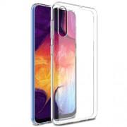 IMAK UX-5 Θήκη Σιλικόνης TPU για Samsung Galaxy A70 - Διάφανο