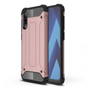 Armor Guard Plastic + TPU Hybrid Case for Samsung Galaxy A50 - Rose Gold
