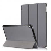 PU Leather Tri-fold Stand Tablet Case for iPad Air 10.5 inch (2019)/Pro 10.5-inch (2017) - Grey