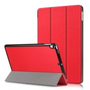 PU Leather Tri-fold Stand Tablet Case for iPad Air 10.5 inch (2019)/Pro 10.5-inch (2017) - Red