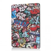 Pattern Printing Tri-fold Stand PU Leather Cover for iPad Air 10.5 (2019) / Pro 10.5-inch (2017) - Graffiti Pattern