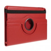 Litchi Texture PU Leather Protection Tablet Case with Stand for iPad mini (2019) 7.9 inch - Red