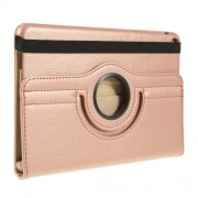 Litchi Texture PU Leather Protection Tablet Case with Stand for iPad mini (2019) 7.9 inch - Rose Gold