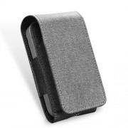 DUX DUCIS PU Leather Protective Cover Pouch Bag for iQOS Electronic Cigarette - Grey