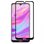 HAT PRINCE Full Glue 0.26mm 9H 2.5D Tempered Glass Full Size Screen Protector for Huawei Enjoy 9 / Y7 Pro (2019)