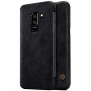 NILLKIN Qin Series Δερμάτινη Θήκη Πορτοφόλι για Samsung Galaxy S9 Plus G965 - Μαύρο