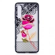 Θήκη Σιλικόνης TPU με Σκληρή Πλάτη για Xiaomi Mi 9 - Όμορφο Τριαντάφυλλο