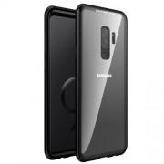 Μεταλλική Μαγνητική Θήκη 360 μοιρών (Detachable Metal Frame) για Samsung Galaxy S9 Plus SM-G965 - Μαύρο