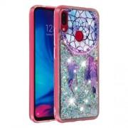 Dynamic Glitter Powder Sequins TPU Case for Xiaomi Redmi Note 7 / Note 7 Pro (India) - Dream Catcher