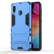Υβριδική Θήκη Σιλικόνης TPU σε Συνδυαμό με Πλαστικό και με Βάση Στήριξης για Samsung Galaxy A30 / A20 - Μπλε