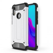 Armor Guard Plastic + TPU Hybrid Phone Case for Huawei Honor 8A - White
