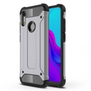 Armor Guard Plastic + TPU Hybrid Cover Case for Huawei Honor 8A - Grey