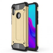 Armor Guard Plastic + TPU Hybrid Accessory Case for Huawei Honor 8A - Gold