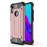 Armor Guard Plastic + TPU Hybrid Mobile Case for Huawei Honor 8A - Rose Gold