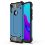 Armor Guard Plastic + TPU Hybrid Cellphone Case for Huawei Honor 8A - Baby Blue