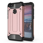 Armor Guard Plastic + TPU Hybrid Shell for Huawei Honor 9 Lite / Honor 9 Youth Edition - Rose Gold