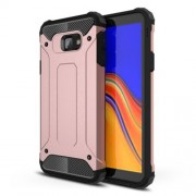 Armor Guard Plastic + TPU Combo Phone Shell for Samsung Galaxy J4+ - Rose Gold