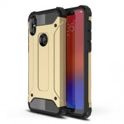 Armor Guard Plastic + TPU Combo Case Cover for Motorola One / P30 Play in China - Gold