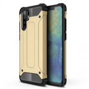 Armor Guard Plastic + TPU Hybrid Cell Phone Case for Huawei P30 Pro - Gold