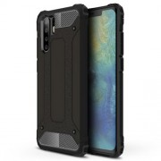 Armor Guard Plastic + TPU Hybrid Protection Case for Huawei P30 Pro - Black