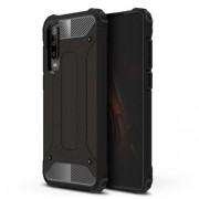 Armor Guard Plastic + TPU Hybrid Protection Case for Huawei P30 - Black