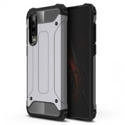 Armor Guard Plastic + TPU Hybrid Case Shell for Huawei P30 - Grey