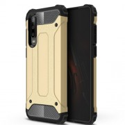 Armor Guard Plastic + TPU Combo Phone Case for Huawei P30 - Gold