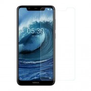 For Nokia 5.1 Plus 0.3mm Arc Edge Tempered Glass Screen Protector Film