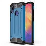 Armor Guard Plastic + TPU Combo Back Case for Xiaomi Redmi Note 7 / Note 7 Pro (India) - Baby Blue