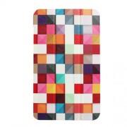 Δερμάτινη Θήκη Βιβλίο Tri-Fold με Βάση Στήριξης για Lenovo Tab 4 8 -  Πολύχρωμα Τετράγωνα
