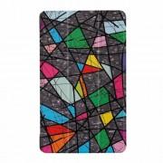 Δερμάτινη Θήκη Βιβλίο Tri-Fold με Βάση Στήριξης για Lenovo Tab 4 8 Plus - Γεωμετρικά Σχέδια