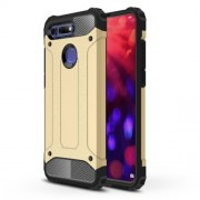 Armor Guard Plastic + TPU Combo Shell Case for Huawei Honor View 20 / Honor V20 - Gold