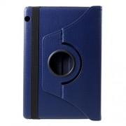 Περιστρεφόμενη Δερμάτινη Θήκη Βιβλίο με Βάση Στήριξης Huawei MediaPad T5 10 - Σκούρο Μπλε