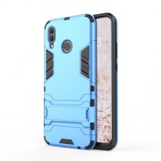 Cool Guard PC TPU Hybrid Casing with Kickstand for Huawei nova 3 - Baby Blue