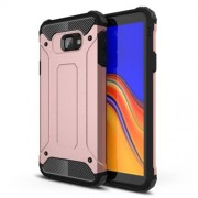 Armor Guard Plastic + TPU Hybrid Mobile Shell for Samsung Galaxy J4 Core - Rose Gold