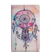 Pattern Printing Stand Leather Wallet Shell for Samsung Galaxy Tab A 10.5 (2018) T590 T595 - Dream Catcher