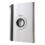 Litchi Texture 360 Degree Rotary Stand Leather Shell for iPad Pro 12.9-inch (2018) - White