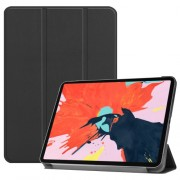 Tri-fold Stand Smart PU Leather Protection Case for iPad Pro 12.9-inch (2018) - Black