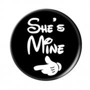 Expanding Mount and Finger Grip for iPhone Samsung Smartphone Tablet - She Is Mine