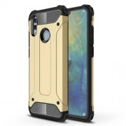 Armor Guard Plastic + TPU Hybrid Case Shell for Huawei Honor 10 Lite - Gold