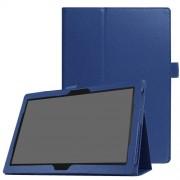 Δερμάτινη Θήκη Βιβλίο με Βάση Στήριξης για Lenovo Tab 4 10 Plus - Σκούρο Μπλε