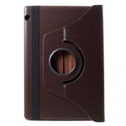 Περιστρεφόμενη Δερμάτινη Θήκη Βιβλίο με Βάση Στήριξης Huawei MediaPad T5 10 - Καφέ