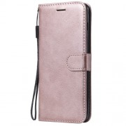 Wallet Leather Stand Phone Case for Samsung Galaxy S10 Plus - Rose Gold