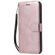 Wallet Leather Stand Case Cover for Samsung Galaxy S10 - Rose Gold